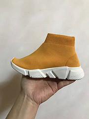 巴黎世家童鞋 巴黎童鞋 桔色25-35