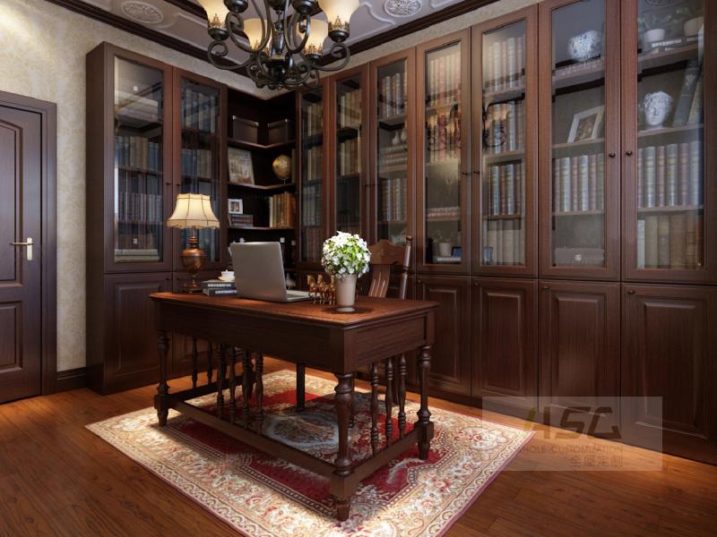 美式书柜12