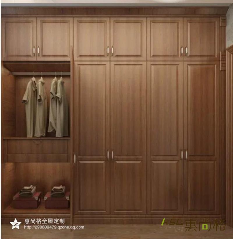 欧式柚木衣柜_1