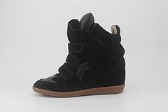 订做IsabelMarant内增高休闲鞋运动鞋高帮隐形坡跟3541