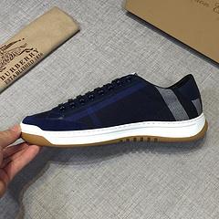 新款式Burberry巴宝莉休闲鞋系带鞋头层小牛皮内里头层羊皮码数38一45