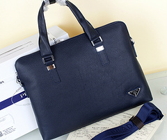 Prada Original briefcase 6011-5 Blue
