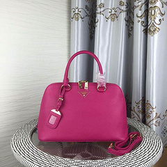 Prada Original handbag 7726 33x22x13 Rose red