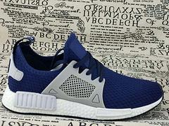 Adidas Original running shoes NMD 36-45 S16010 Dark blue