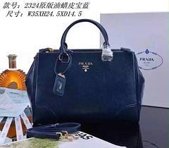 Prada Original handbag 2324 Dark Blue
