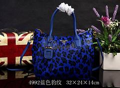 Prada Original handbag 4992 32×24×14 Blue
