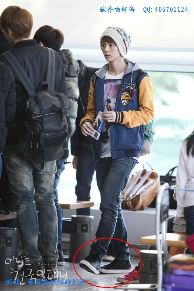 exo穿的皮鞋
