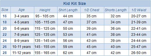 Kid Kit Size