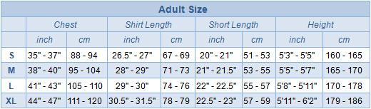 Adult Kit Size