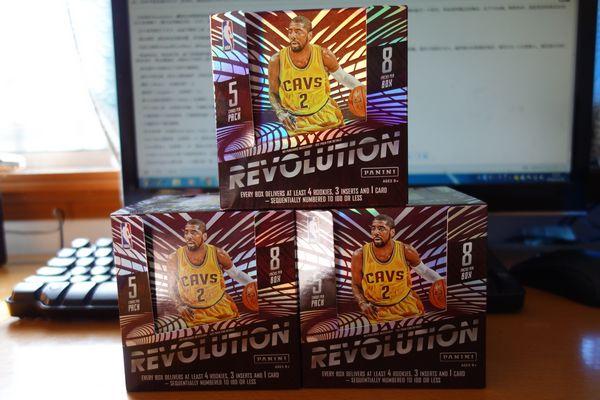 拆卡报告——PANINI 15-16 Revolution