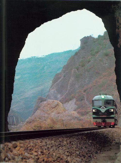 青花车站附近的天然洞