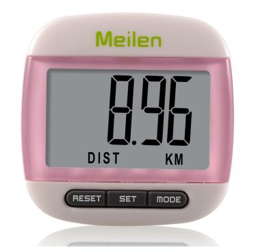 meilen专业电子手表健身计步器9.9元