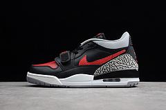 Air Jordan Legacy 312 Low AJ312乔丹低帮篮球鞋 黑灰红男鞋 CD7069-006 40-45