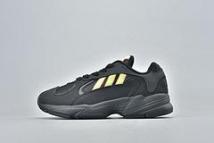 Adidas Originals Ynug-1 阿迪达斯复古跑鞋 黑彩男女鞋 EF5297 36-45