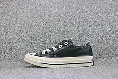 渠道正品 新款Converse All Star 70s 匡威三星标 黑色低帮复古帆布  男女鞋144757C 35-44