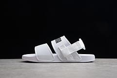 PUMA/彪马 夏季双带凉鞋沙滩鞋 白色男女鞋 370733-03 35-44