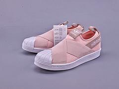 Superstar Slip-On Shoes 绑带贝壳头顶级版本 拉帮工艺区别市面通货 外围实体均可充正 货号:S76408SIZE :36 36.5 37 38 38.5 39
