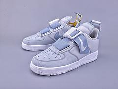 公司级 亚博集团 Nike AIR FORCE 1 UTILITY QS 限定空军一号机能低帮绷带设计潮流休闲运动板鞋。原楦开发版型!磁力机能解构美学!官方货号#AO1531-003