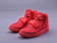Kanye West xNike Air Yeezy II NRG 椰子二代中帮纪念球鞋 红椰子 专供外贸出口订单货 508214-660
