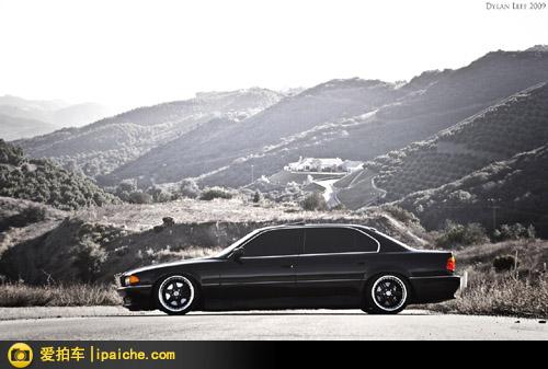 黑色烈马——宝马E38