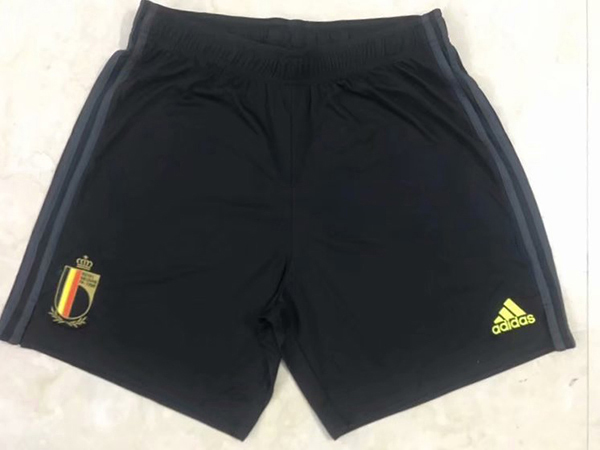 adidas KIDS BELGIUM AWAY FOOTBALL SHORTS BLACK SOCCER TRAINING WORLD CUP EUROS