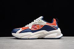 R20 复古休闲鞋 蓝白橘红STE5S2001M