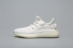 GET毒版 阿迪达斯 ADIDAS YEEZY BOOST 350 V2 CP9366 纯白 男女鞋