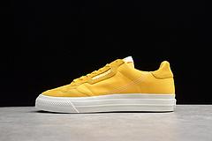 R16 三叶草 帆布鞋 黄EF3520