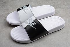 公司货GT版本 拖鞋 白黑343881-104 男女鞋