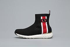 LV袜子 高帮 黑红 女鞋