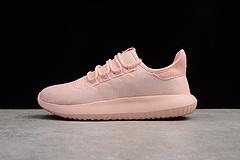 真标公司级 阿迪达斯 Adidas Tubular shadow CK 简版小椰子 布面 粉 BY3571 女鞋 36-39