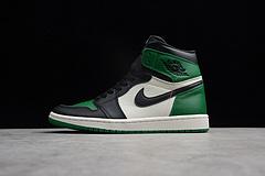 乔丹一代 ST版本 AJ1 绿脚趾 555088-302 男鞋 40-47.5