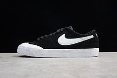 真标公司货Nike SB Air Zoom Blazer Low 男女复古滑板运动板鞋 864348-019