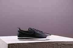 原装 Wmns Nike Cortes 72 Si 经典复刻阿甘鞋 头层羊皮 黑色 881205-001  36-44