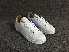 真标头层皮 史密斯 Adidas Originals stan smith  BB4230   白棕色 36-44