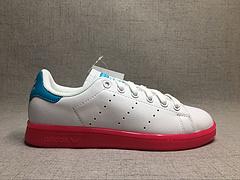 真标 真头层 史密斯 红果冻女鞋 Adidas Originals stan smith AQ4577