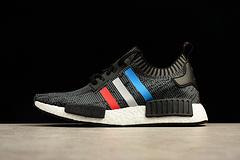 P200 40-44.5 黑法国BB2887 Adidas NMD_R1 Black Tricolore全面升级真爆米花