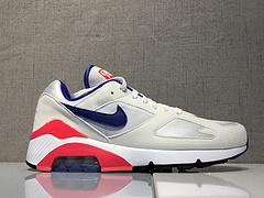 Nike Air Max 180 Ultramarine OG复古百搭慢跑鞋 白蓝粉 615287-100