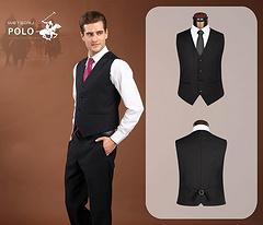 Ralph Lauren waistcoat suit man 46-56