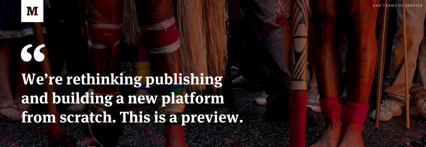 让博客回归本质 - Medium诞生记