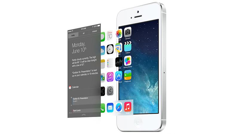 """但除了时间和加速度曲线的变化外,iOS 7的动态速率还包含了一个全新维度,就是与其全新""""Parallax""""解构相呼应的空间速率。在WWDC 2013大会上,Apple已经介绍了""""Parallax""""的界面视差空间结构,也在整个系统中加入了许多针对性的设计要素。而在动态设计中,则是通过运动速率的特殊计算模式进行体现。"""