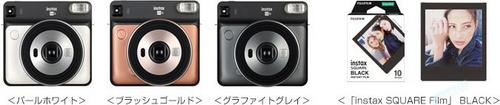 光学曝光的富士方形一次成像相机终登场,instax SQUARE SQ6 5月发售