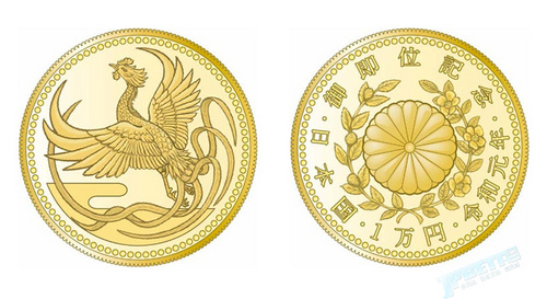 日本10%消费税第一件!?新天皇纪念币10月登场
