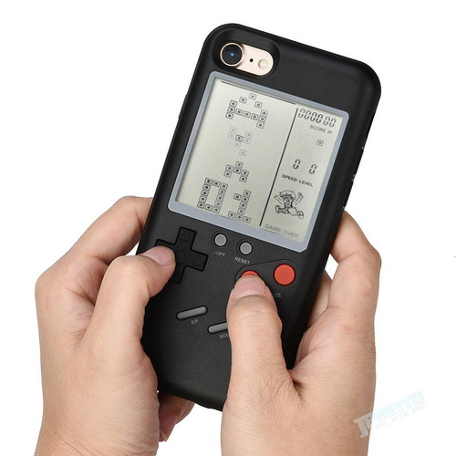 复古GameBoy造型iPhone背壳?真的能玩游戏