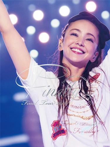 隐退前创个纪录,安室奈美惠Finally演唱会光碟销量破百万