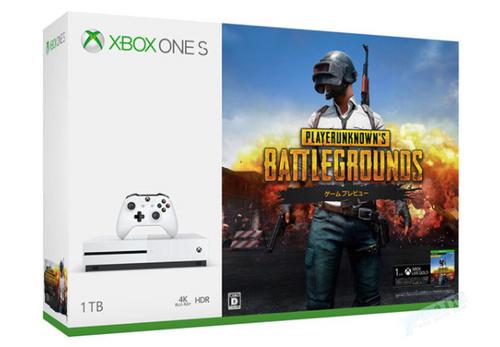 主机平台无外挂吃鸡,日本微软推《PUBG》同捆Xbox One S