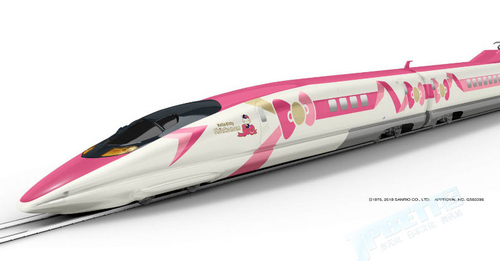 JR西日本EVA新干线5月13日运营结束,夏天接班的是Hello Kitty!