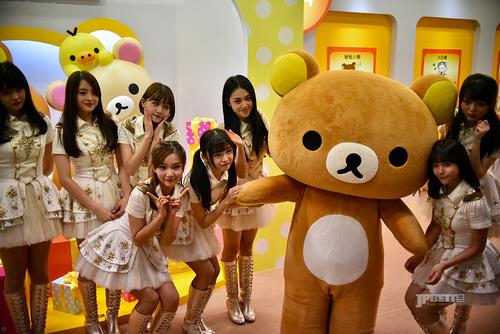 11月8日起到来年1月8日,轻松小熊将在上海大丸百货卖萌两个月