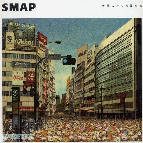 当SMAP遇到危机时Fans站了出来成为偶像…的支柱,用实际行动来买买买