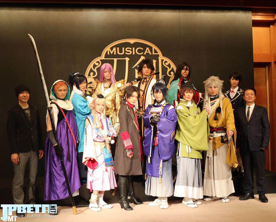 谁说去日本只能看樱花,迷妹们的心头肉啊!音乐剧《刀剑乱舞》即将上演,续作秋天公演已定